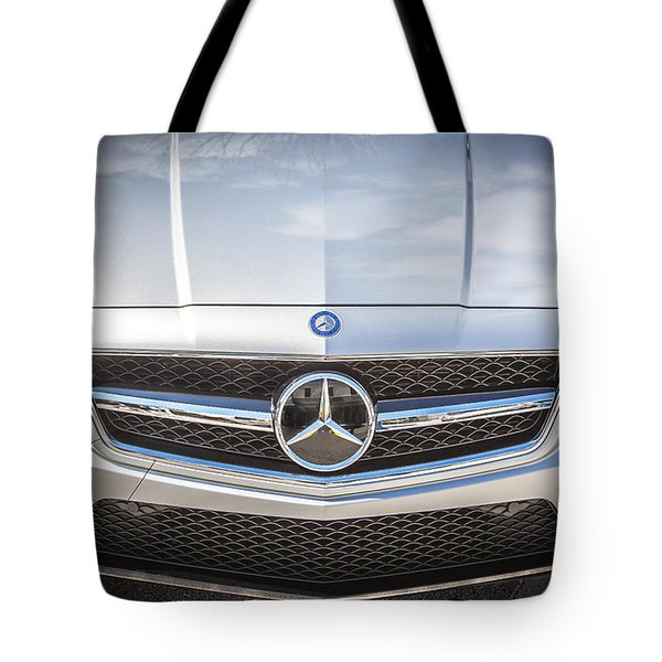 2012 Mercedes Cls 63 Amg Twin Turbo Bw Tote Bag by Rich Franco
