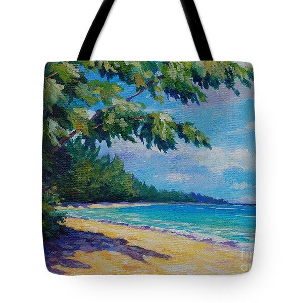 7 Mile Beach Tote Bag