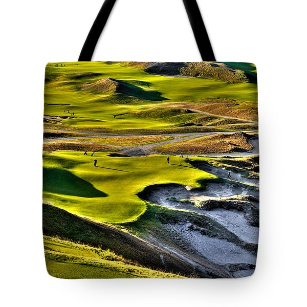 #9 At Chambers Bay Golf Course Tote Bag
