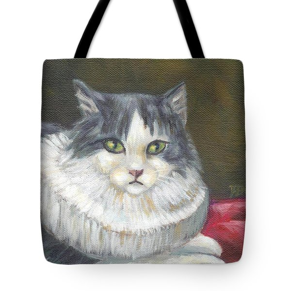 A Cat Of Peter Paul Rubens Style Tote Bag by Jingfen Hwu