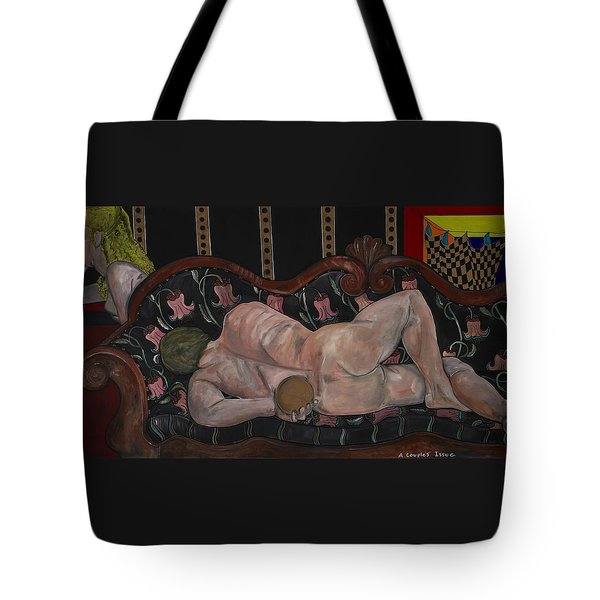 A Couple's Issue Tote Bag