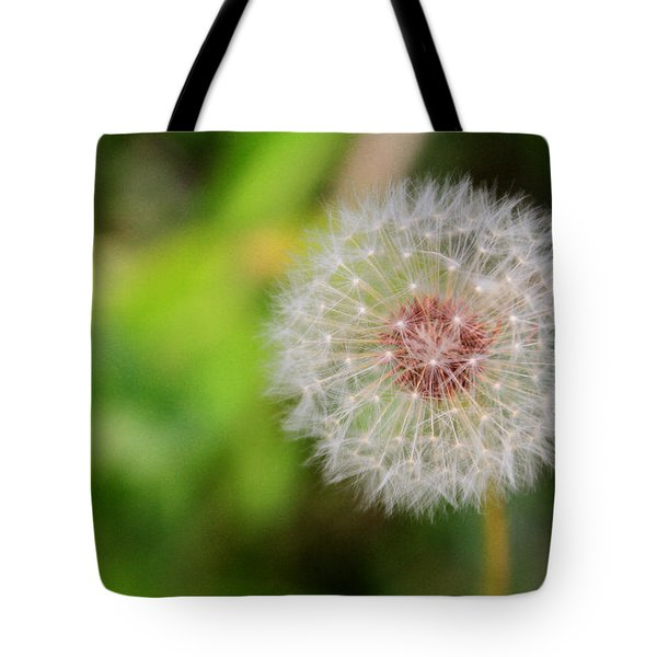 A Dandy Dandelion Tote Bag