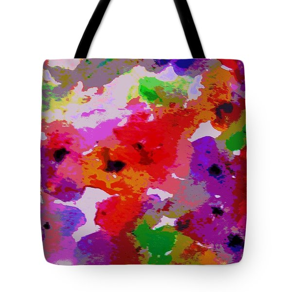 Tote Bag featuring the painting A Little Watercolor by Jamie Frier