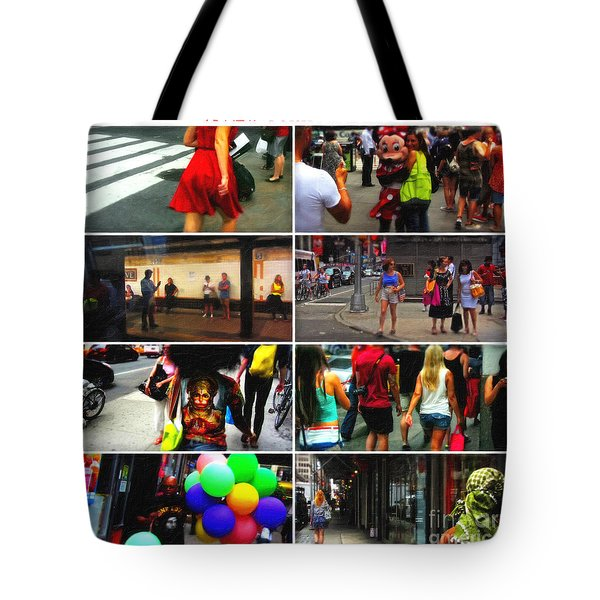 A New York Minute Tote Bag by Nishanth Gopinathan