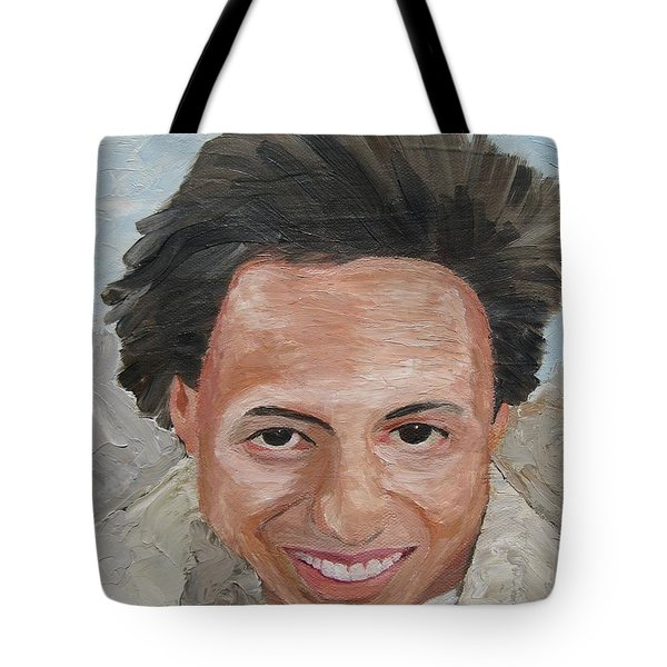 A Time To Be Young Tote Bag