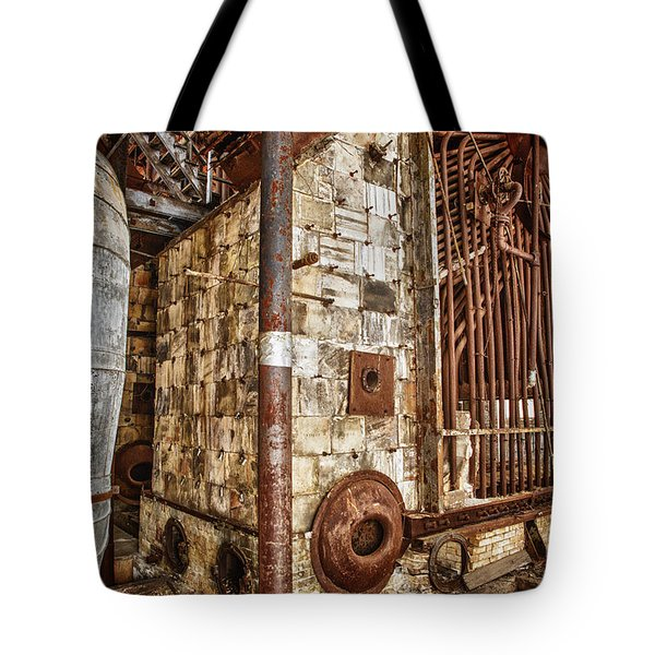 Abandoned Steam Plant Tote Bag