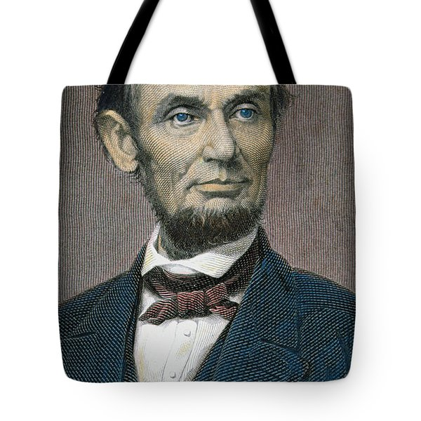 Abraham Lincoln Tote Bag by American School