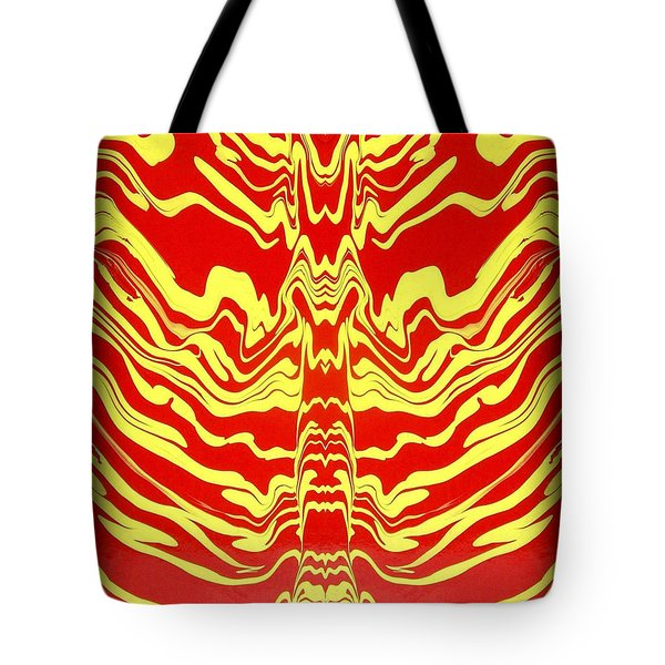 Abstract 48 Tote Bag by J D Owen