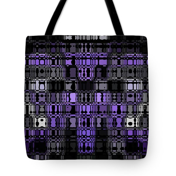 Abstract 90 Tote Bag by J D Owen