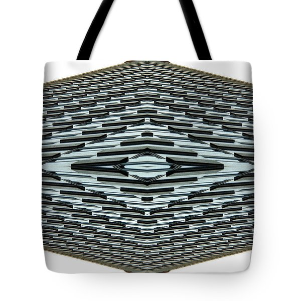 Abstract Buildings 2 Tote Bag by J D Owen