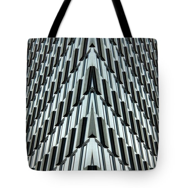 Abstract Buildings 4 Tote Bag by J D Owen