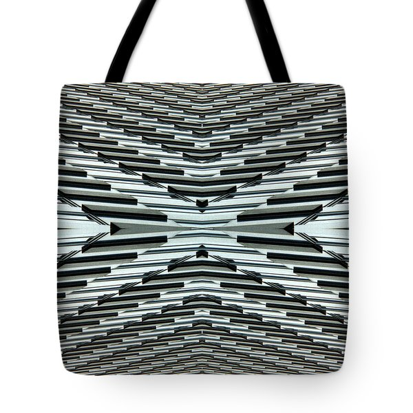 Abstract Buildings 5 Tote Bag by J D Owen