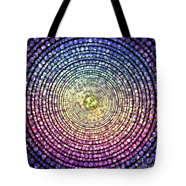 Abstract Dot Tote Bag by Atiketta Sangasaeng