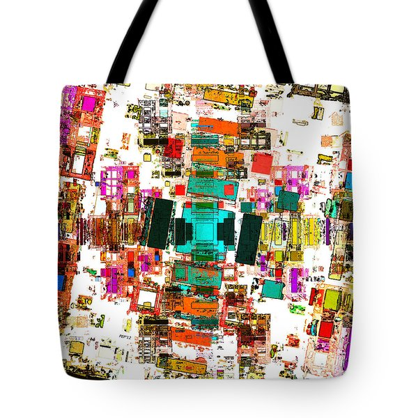 Abstract Geometric Art Tote Bag
