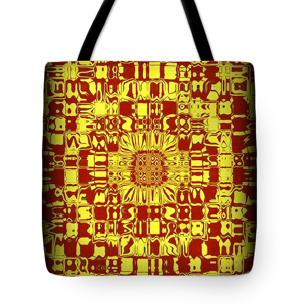 Abstract Series 10 Tote Bag by J D Owen