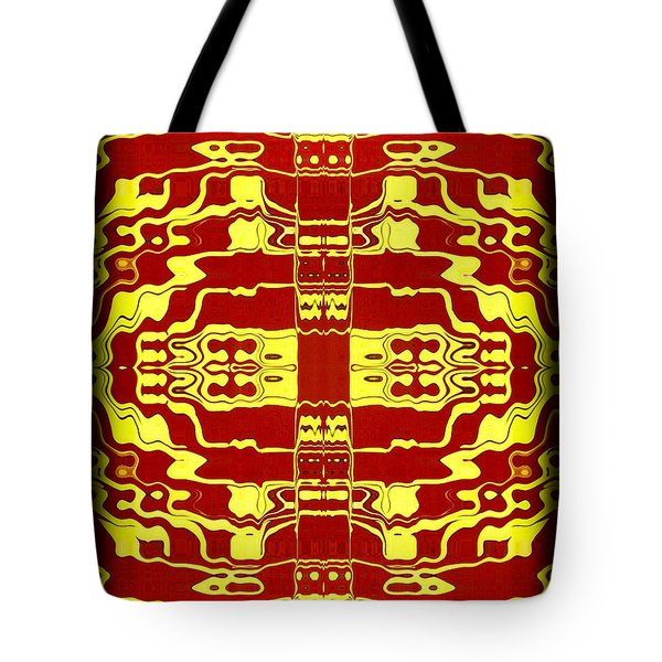 Abstract Series 2 Tote Bag by J D Owen