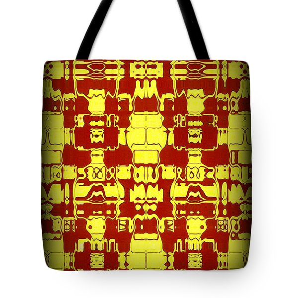 Abstract Series 4 Tote Bag by J D Owen