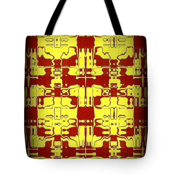 Abstract Series 5 Tote Bag by J D Owen
