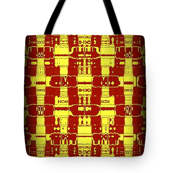 Abstract Series 7 Tote Bag by J D Owen
