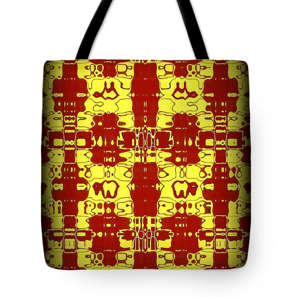 Abstract Series 8 Tote Bag by J D Owen