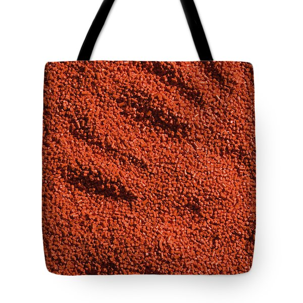 Abstract Texture - Red Tote Bag