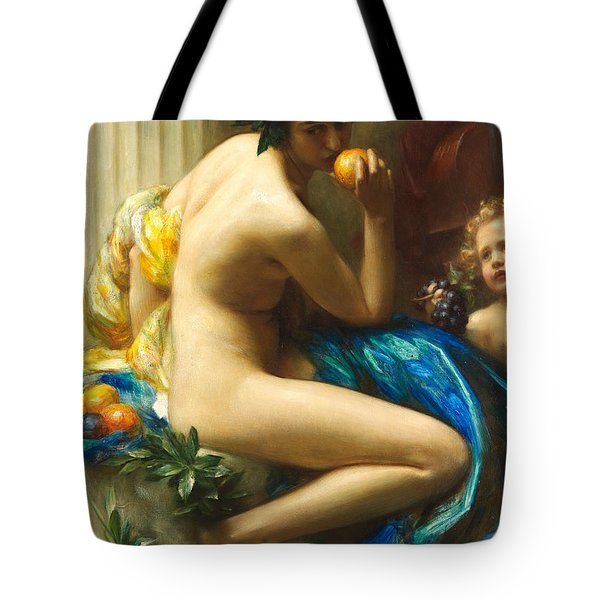 Abundance Tote Bag by Arthur Hacker