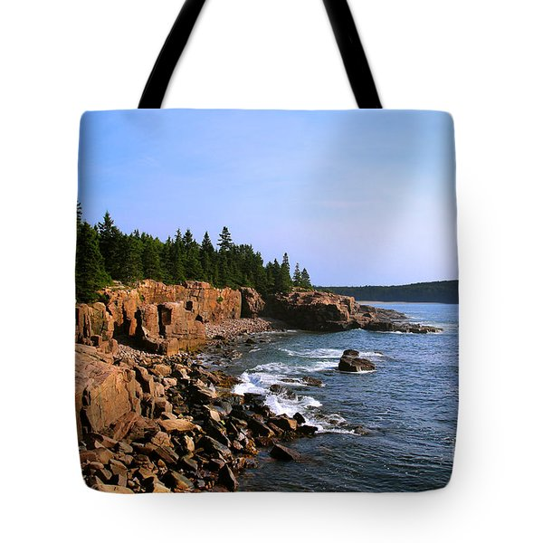 Acadia Coast Tote Bag