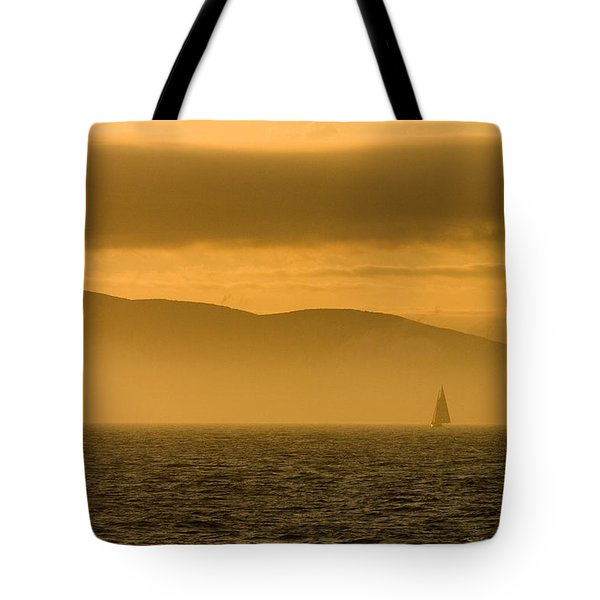 Acadia National Park Sunset Tote Bag