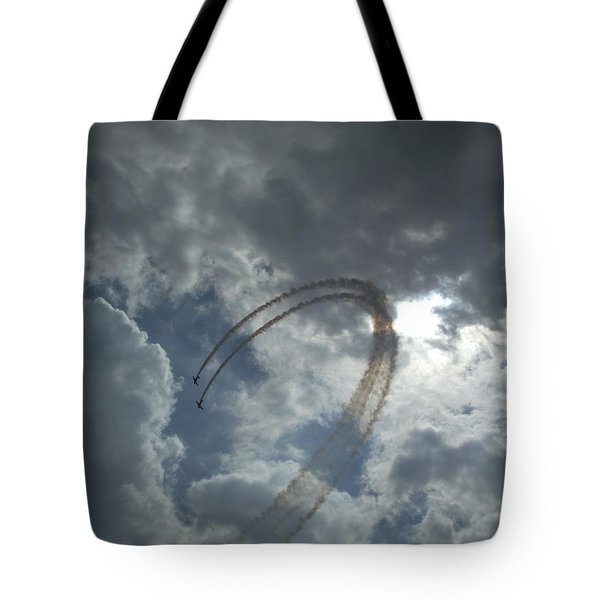 Aerial Display Tote Bag