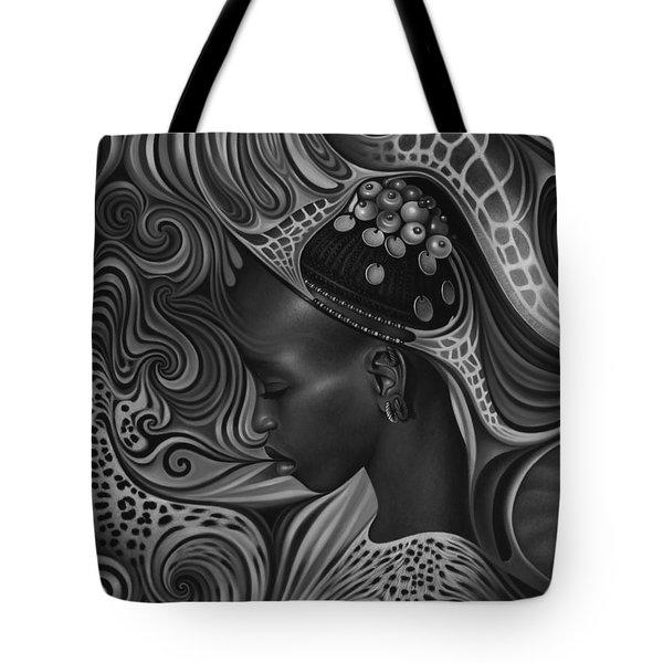 African Spirits II Tote Bag by Ricardo Chavez-Mendez