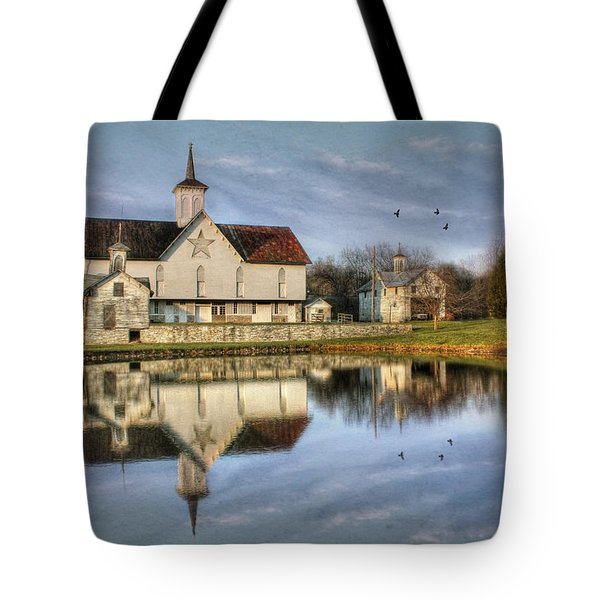 Afternoon At The Star Barn Tote Bag by Lori Deiter