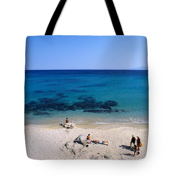 Agrari Beach Tote Bag by George Atsametakis