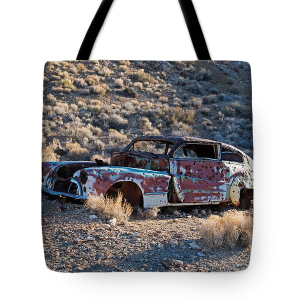 Aguereberry Camp Death Valley National Park Tote Bag