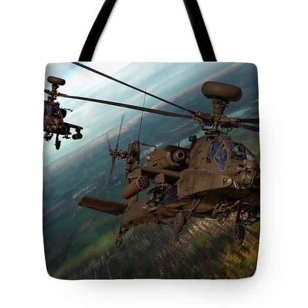 2 Ah64 Apache Tote Bag
