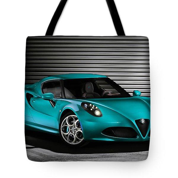 Alfa Romeo Tote Bag by Marvin Blaine