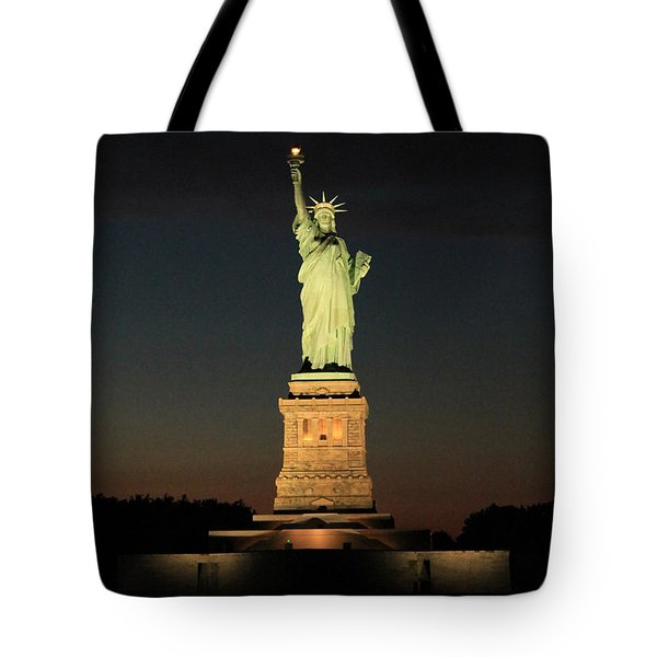 All Lit Up Tote Bag by Catie Canetti