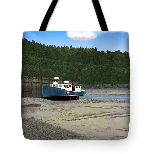 Alma Harbor Tote Bag