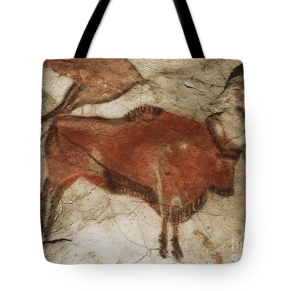 Altamira Cave Paintings Tote Bag by Photo Researchers