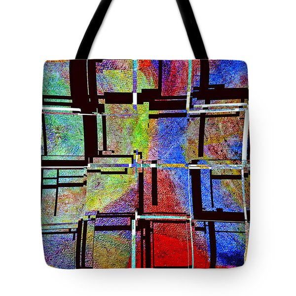 Altered Circles Tote Bag