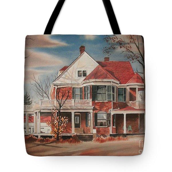 American Home IIi Tote Bag by Kip DeVore