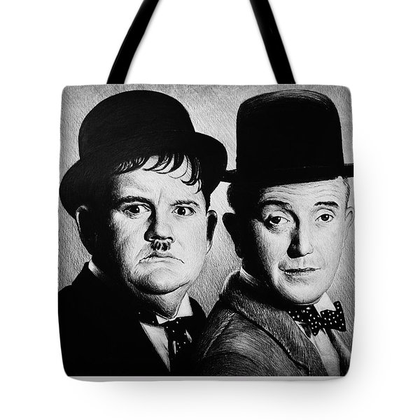 Another Fine Mess Tote Bag