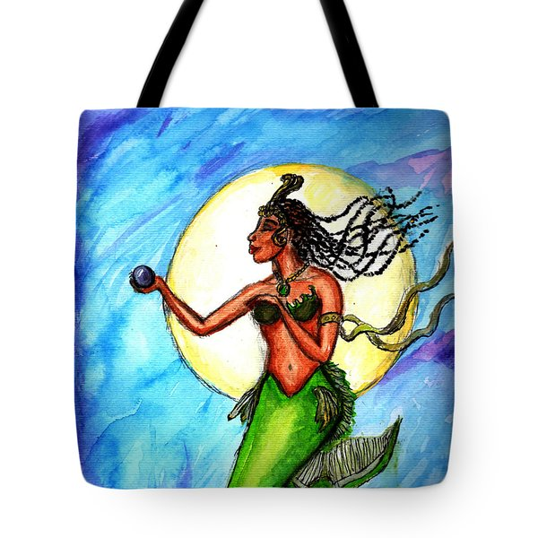 Arania Queen Of The Black Pearl Tote Bag