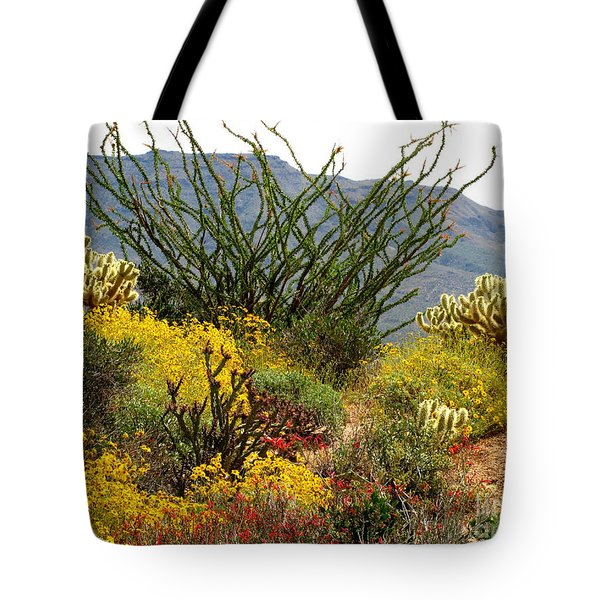 Arizona Springtime Tote Bag