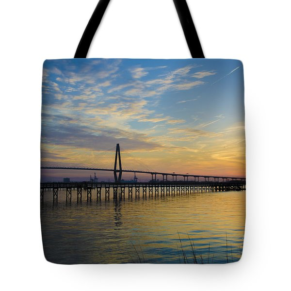 Tote Bag featuring the photograph Magical Blue Skies by Dale Powell