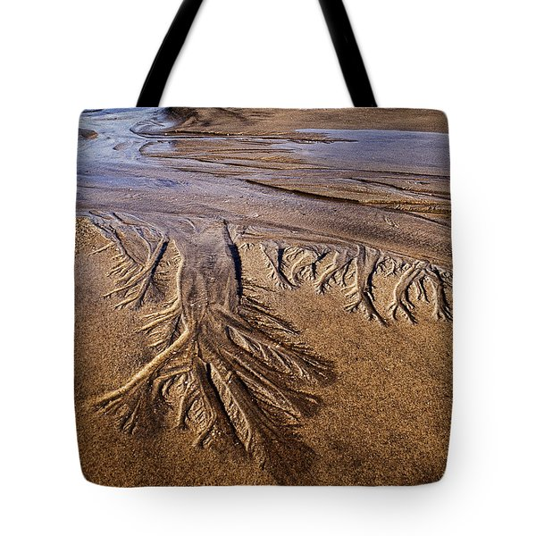 Tote Bag featuring the photograph Artwork Of The Tides by Gary Slawsky