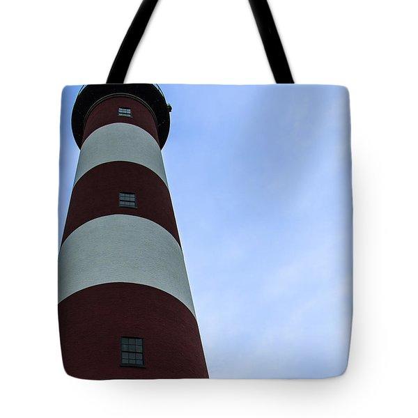 Assateague Lighthouse At Dawn Tote Bag