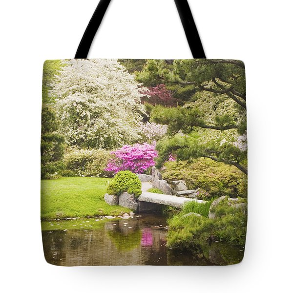 Asticou Azelea Garden - Northeast Harbor - Mount Desert Island - Maine Tote Bag by Keith Webber Jr