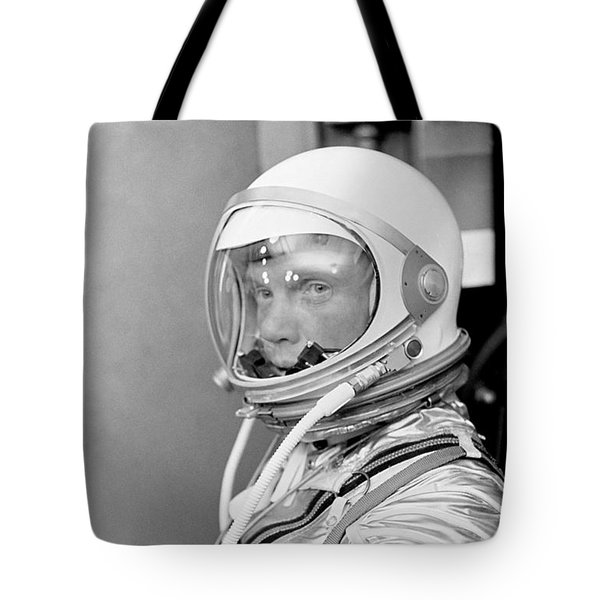 Astronaut John Glenn Tote Bag by War Is Hell Store