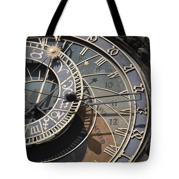 Astronomical Clock Prague Tote Bag