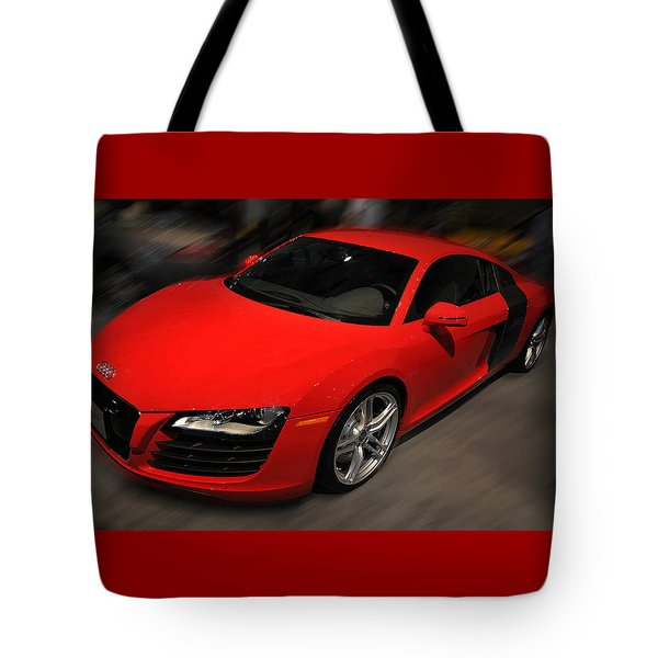 Audi R8 Tote Bag by Dragan Kudjerski